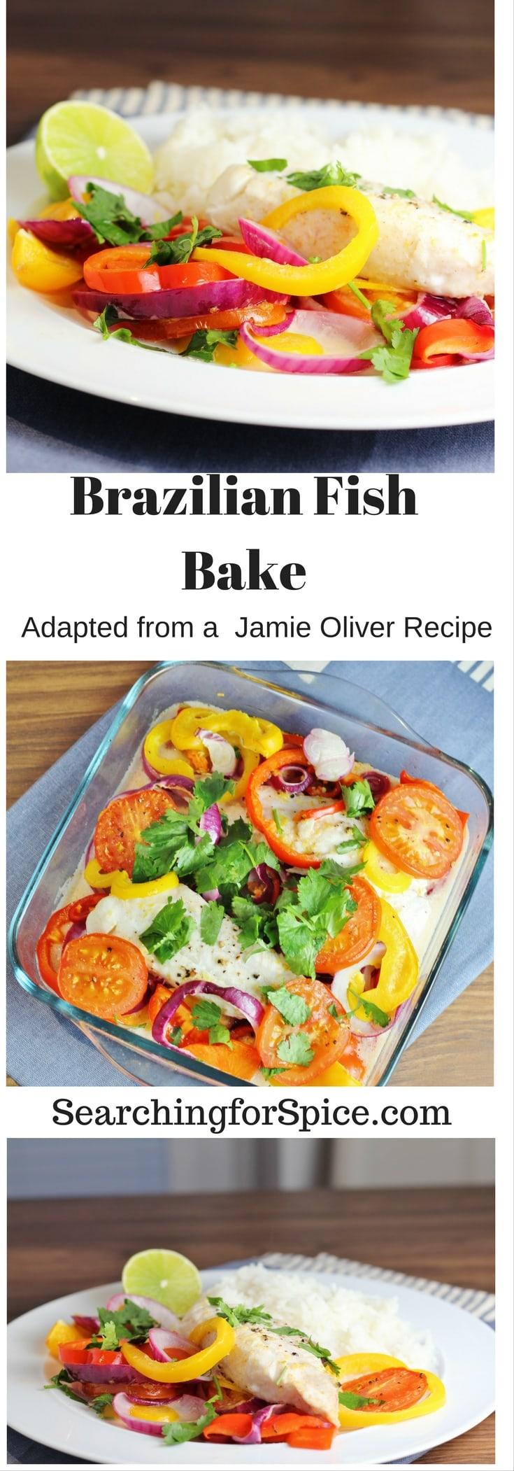 Brazilian Fish Bake - A Jamie Oliver Recipe