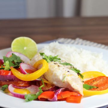 Brazilian Fish Bake from Jamie Oliver's Super Food Family Classics