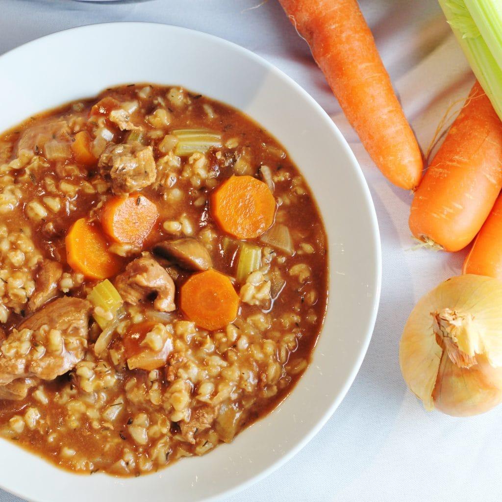 Beef and Barley Vegetable Stew