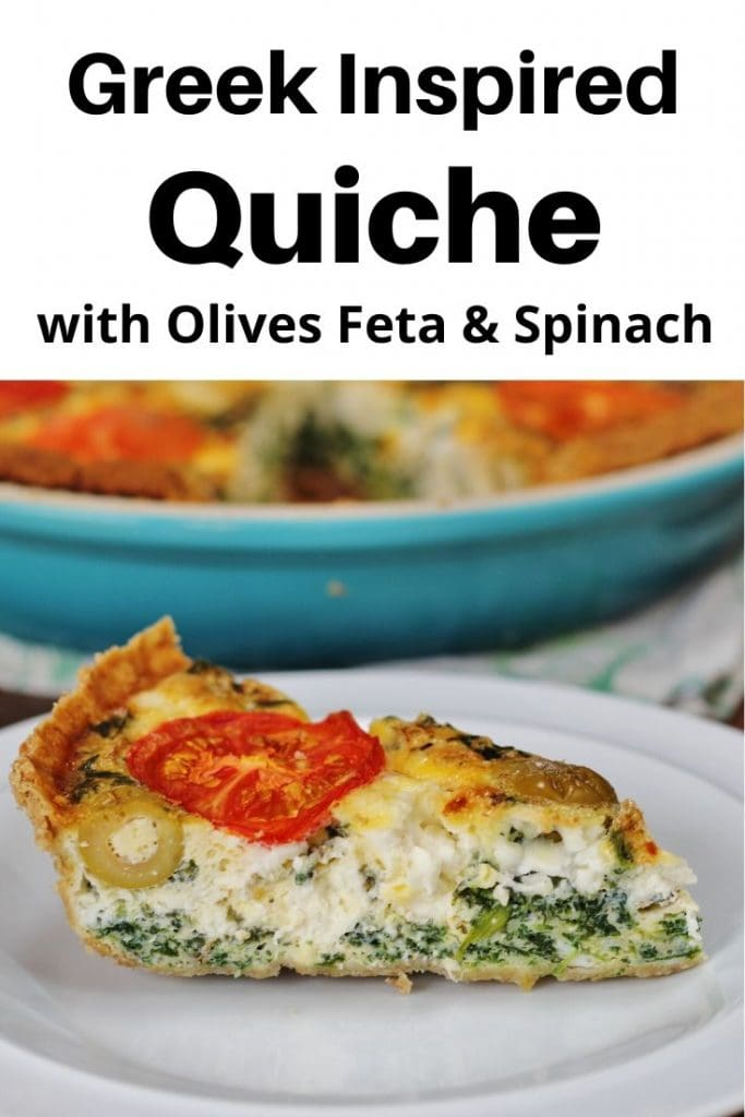 Pin image for Greek Quiche