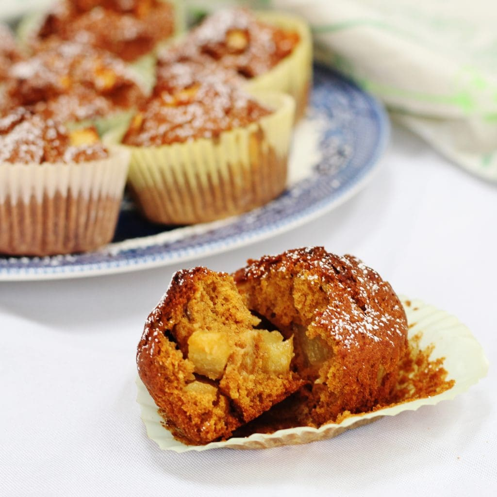 Pumpkin and Apple Muffins - Searching for Spice