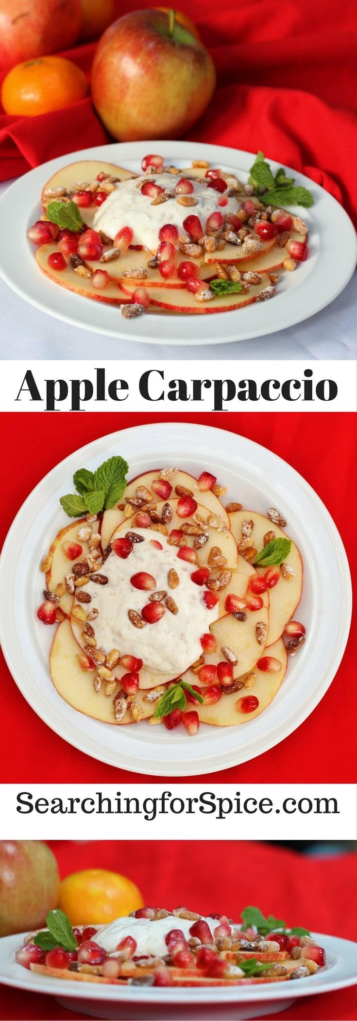 Apple Carpaccio