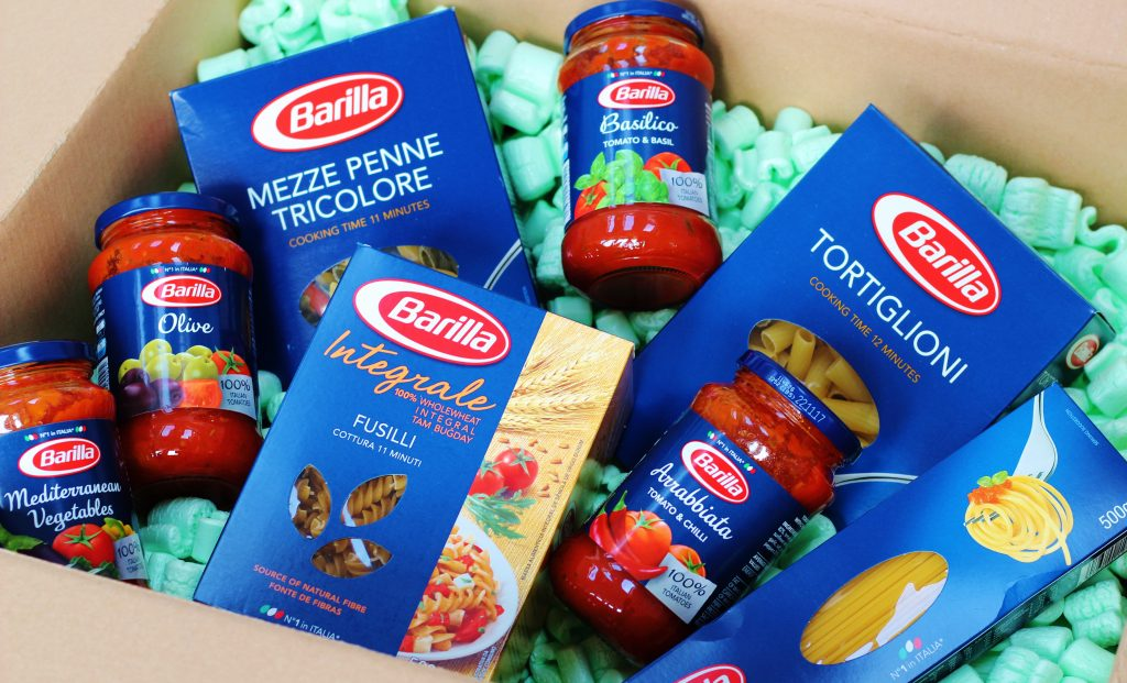 Three easy pasta recipes with Barilla pasta and sauce