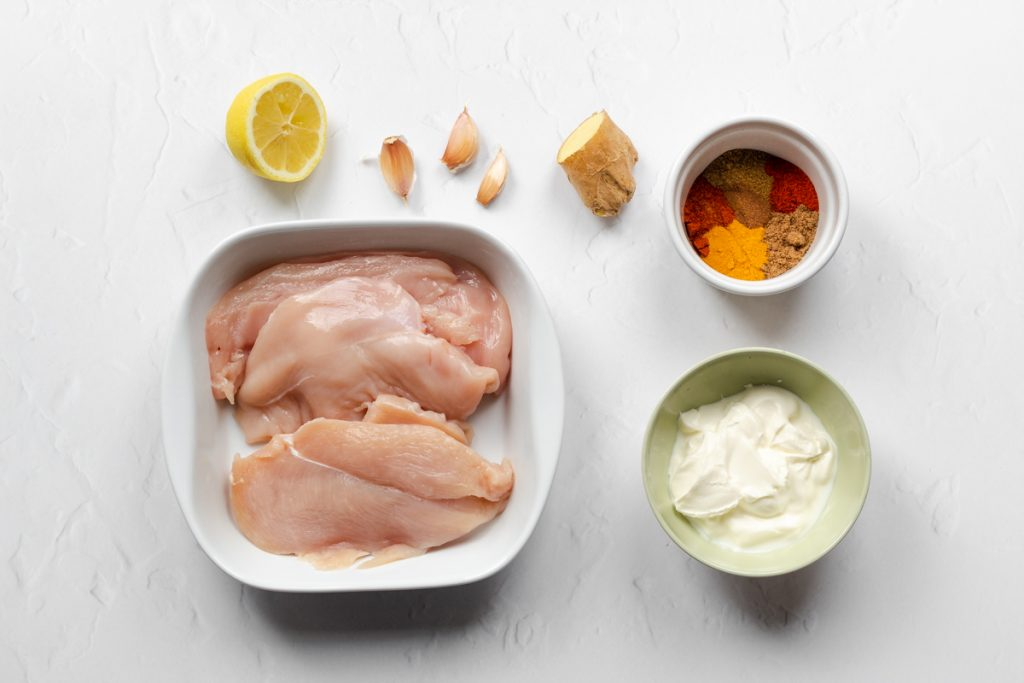 Chicken tikka marinade ingredients