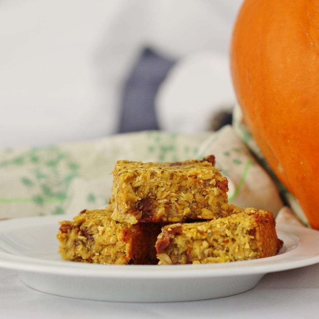 Pumpkin Cereal bars