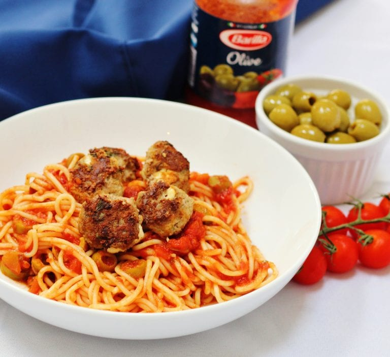 Three Easy Pasta Recipes With Barilla Lamb And Feta Meatball Spaghetti