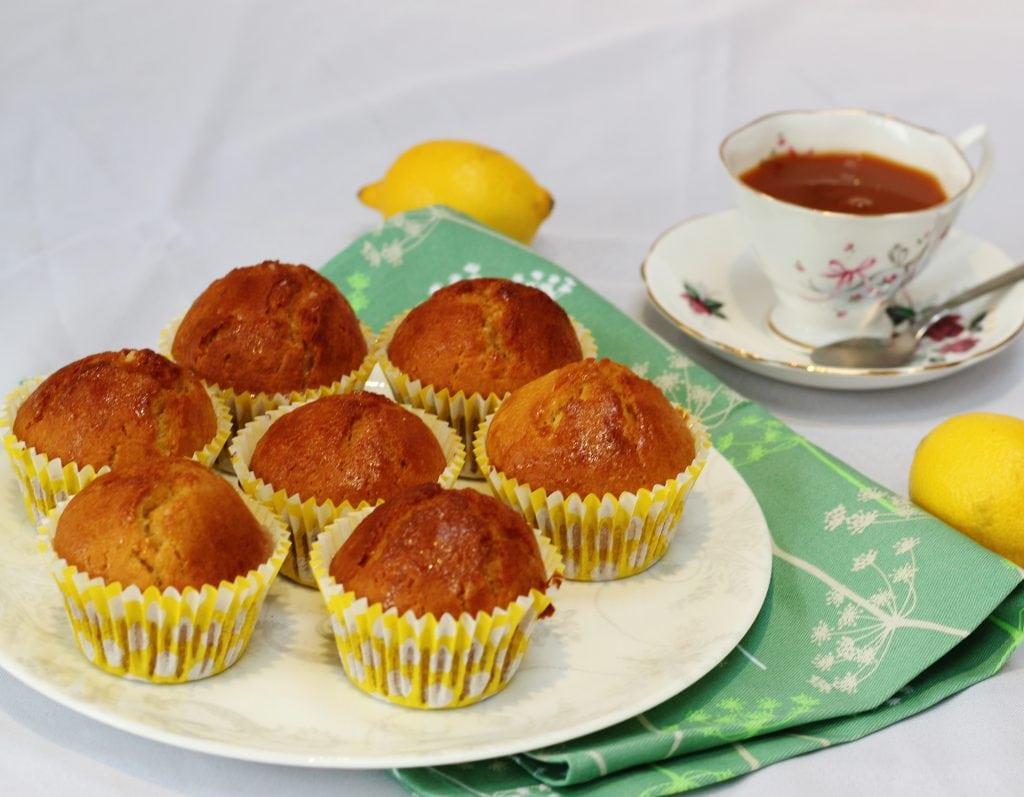 Dairy free lemon muffins