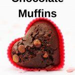 Pin image egg free chocolate muffin