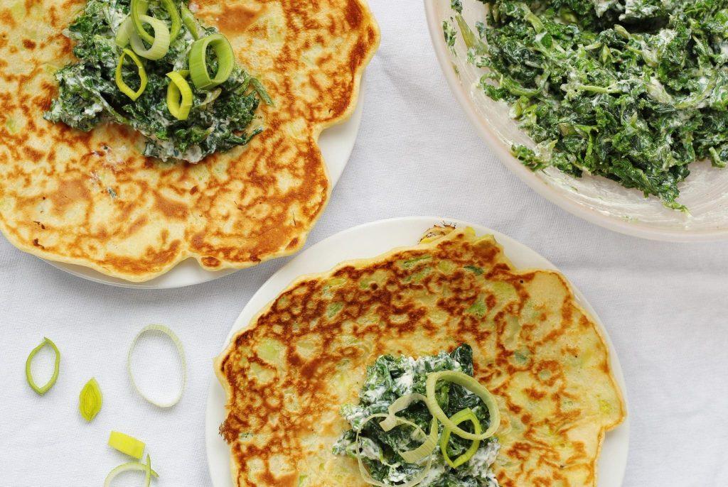 Ricotta Spinach Cake Recipe