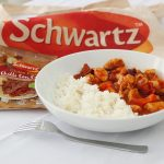 schwartz chilli chicken in a bowl