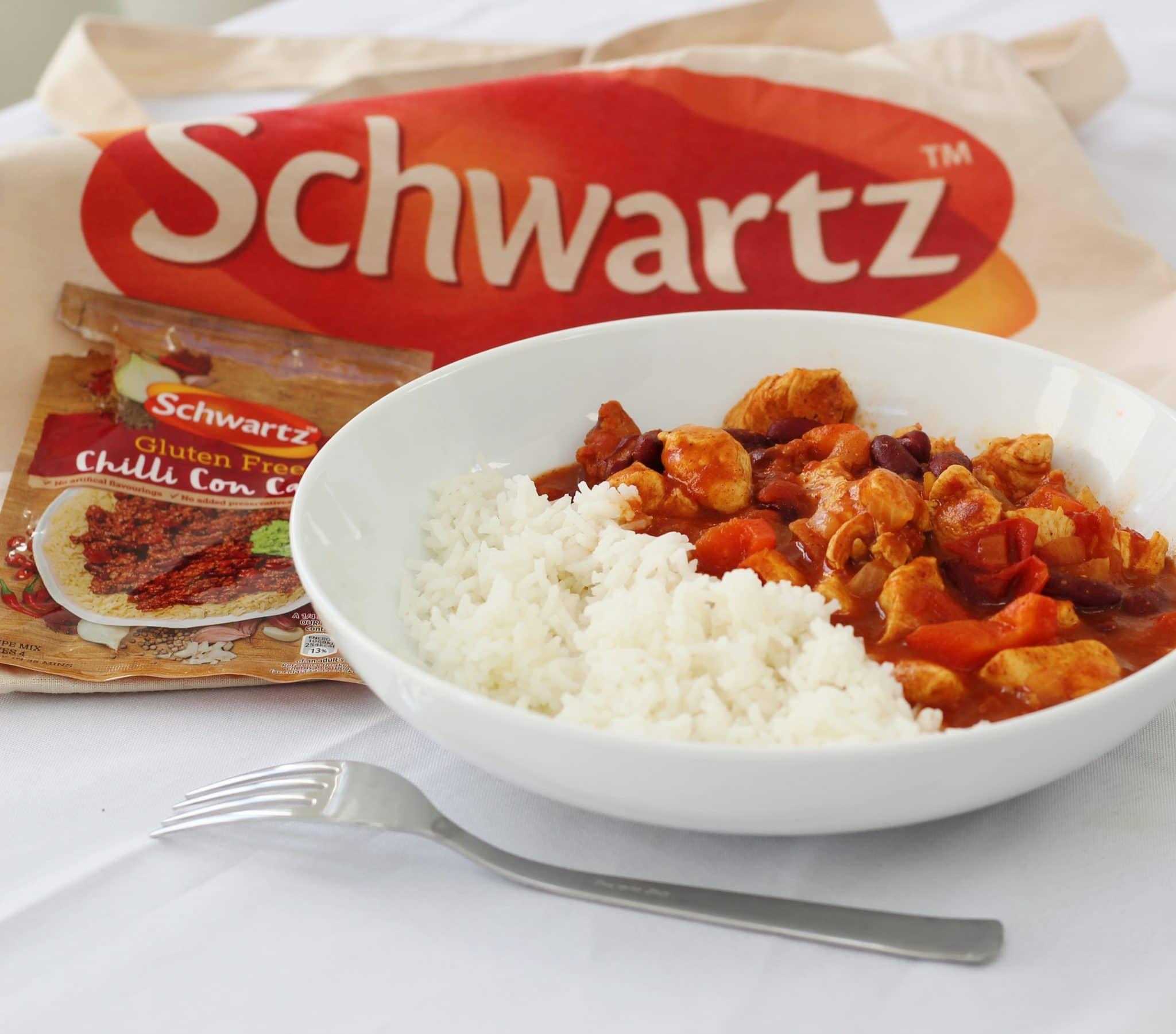 Schwartz gluten free chicken chilli