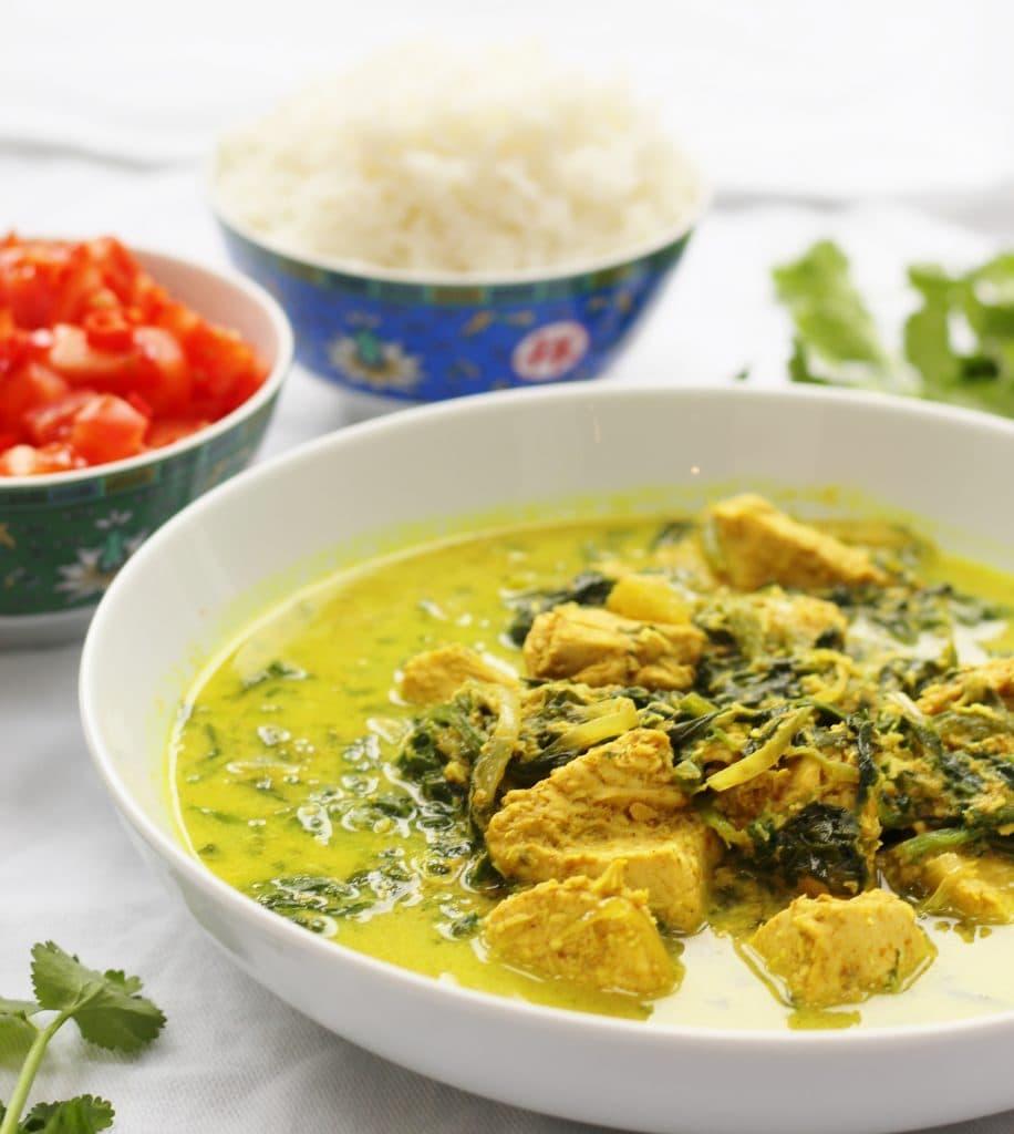 Dairy Free Chicken Curry