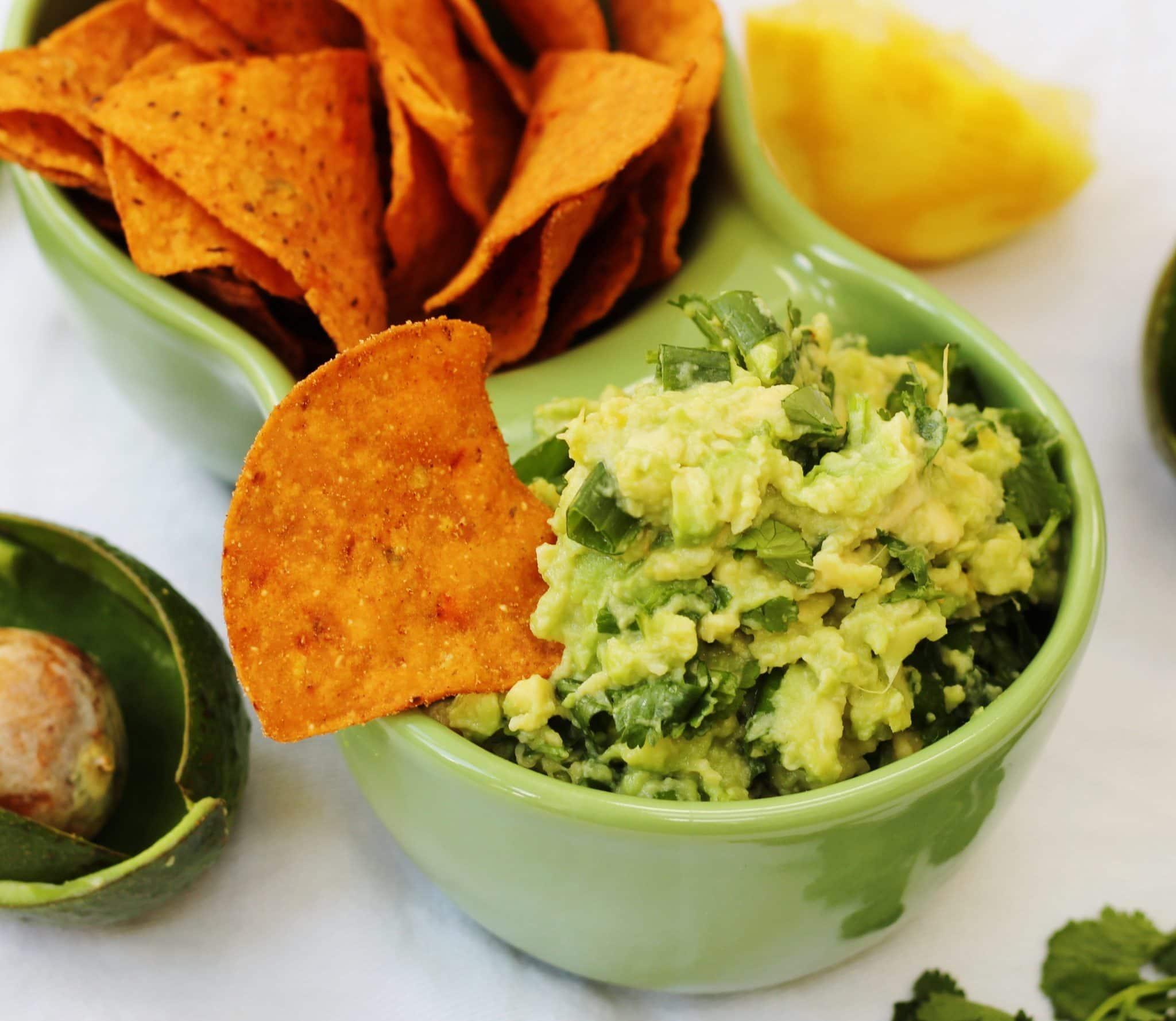 lemon and herb guacamole