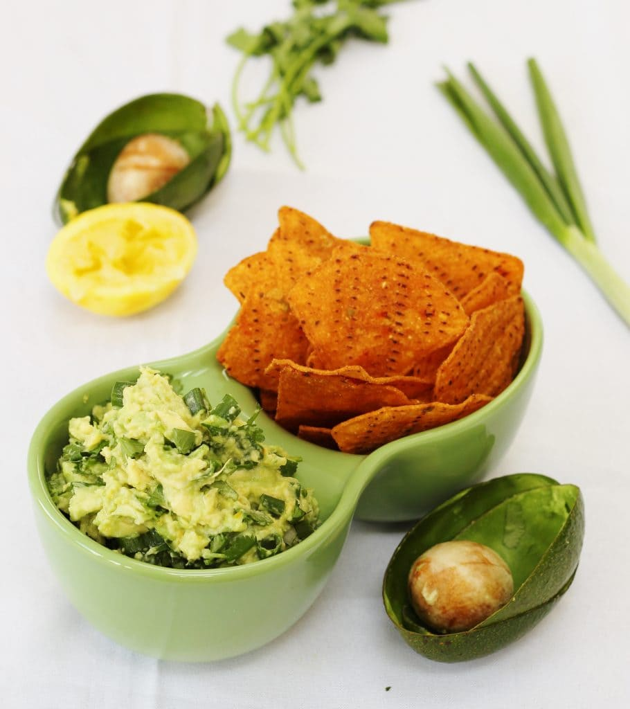 Zesty lemon and herb guacamole