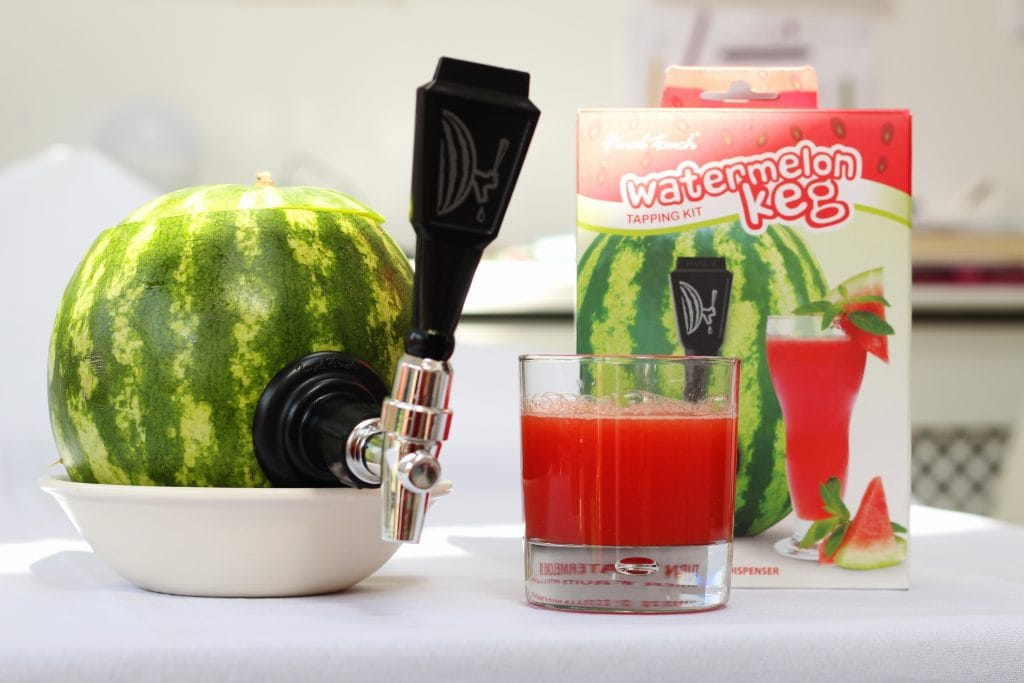 Watermelon tapping kit from UncommonGoods