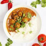 lamb meatball curry