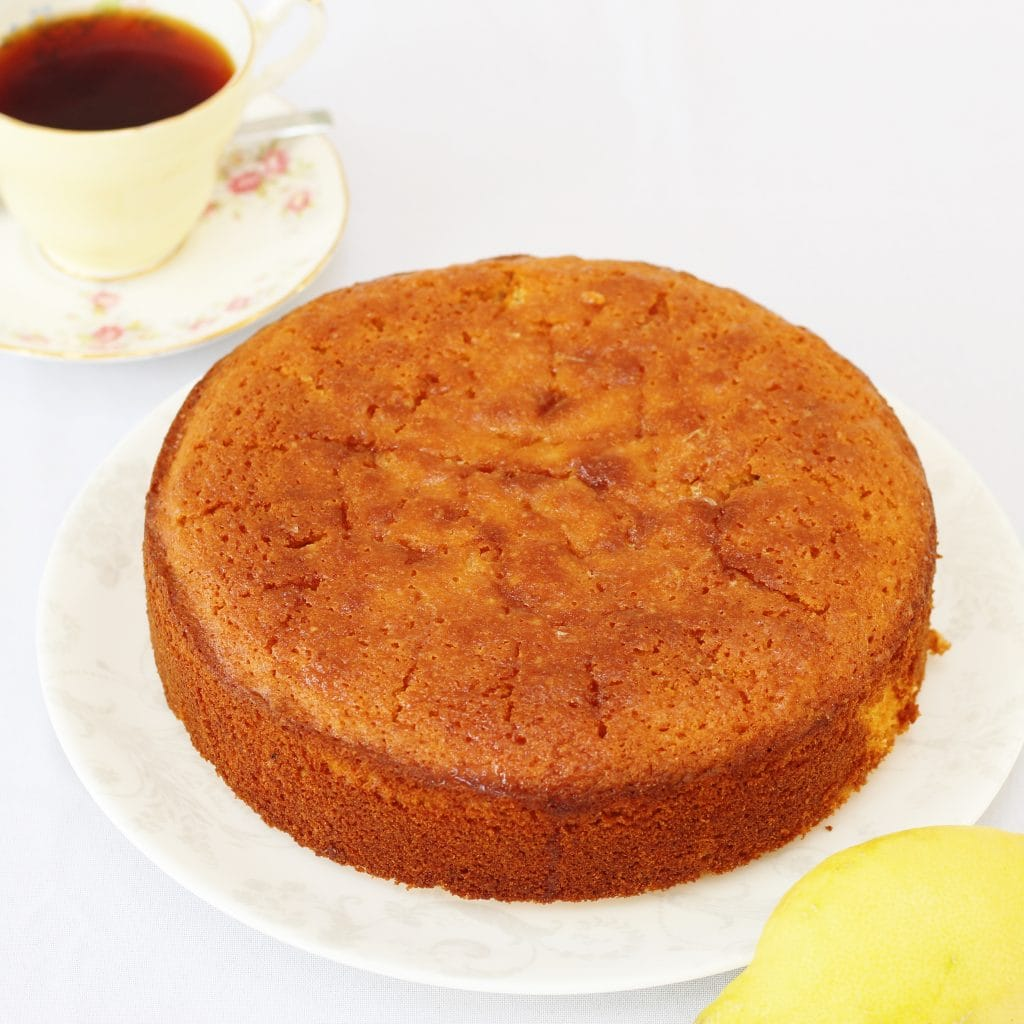 Lemon Cake With Oil Instead Of Butter