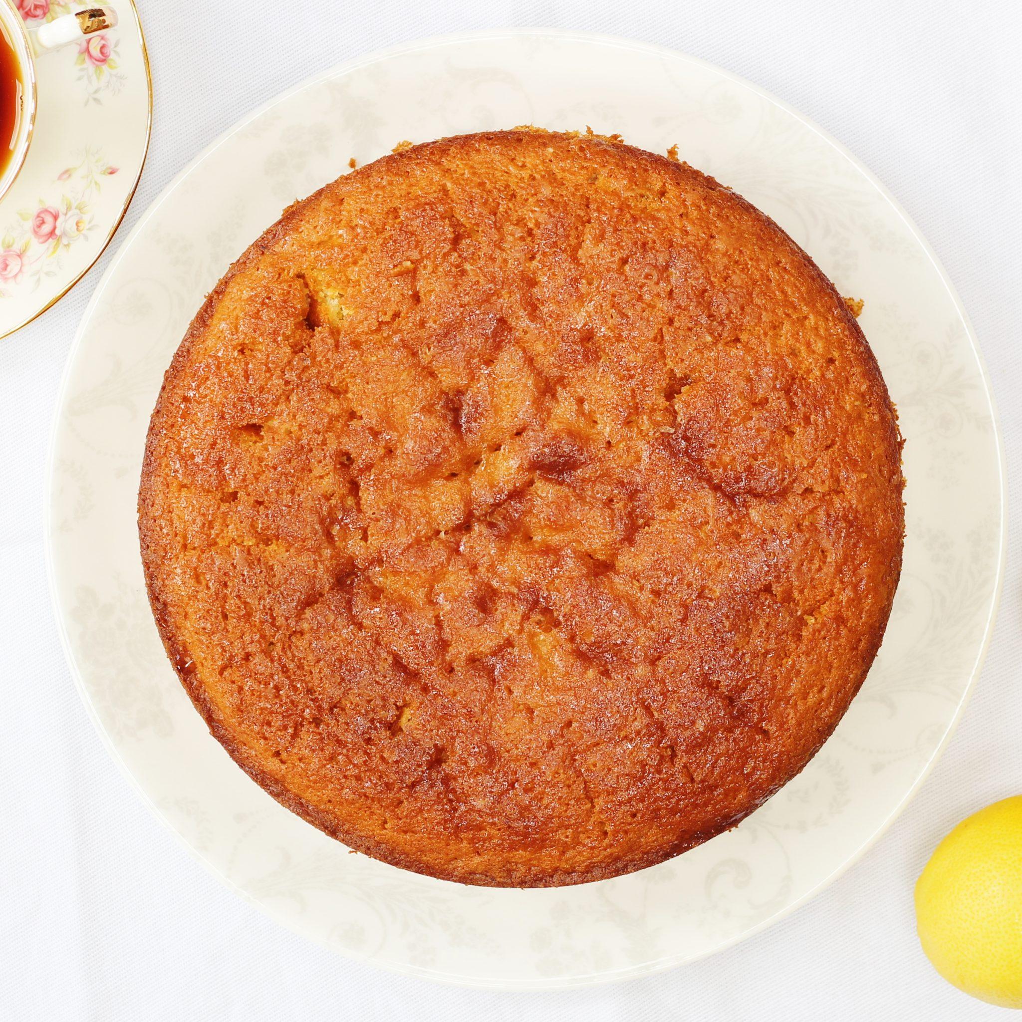 Curry Lemon Olive Oil Cake