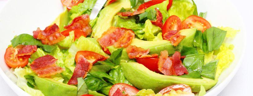 BLT Salad - Bacon lettuce and tomato salad