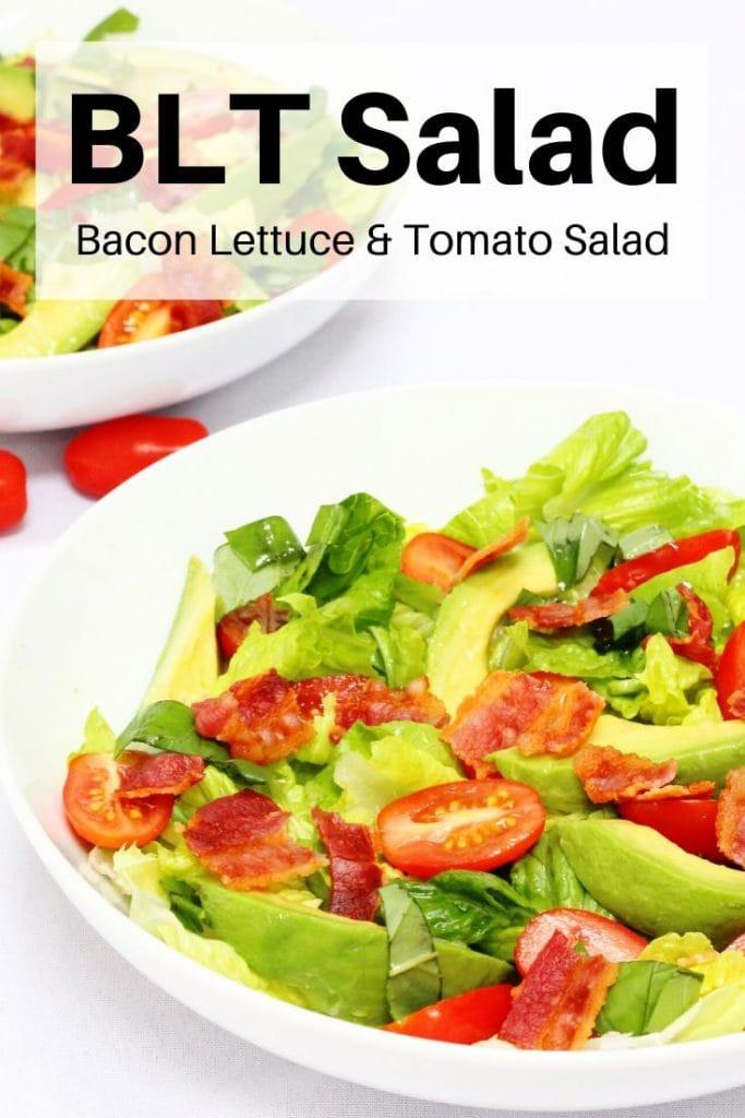 BLT salad pin