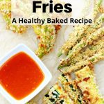 Spiced vegetable fries pin image