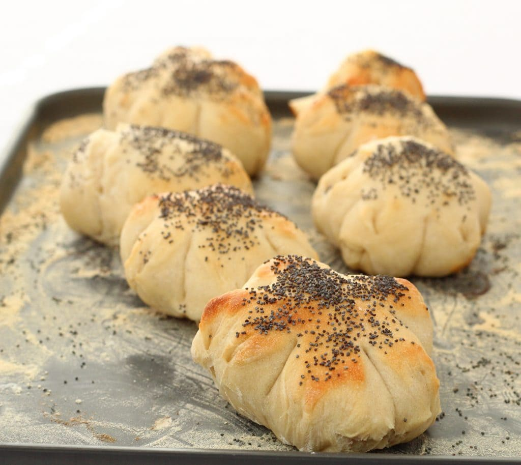 Basic bread rolls