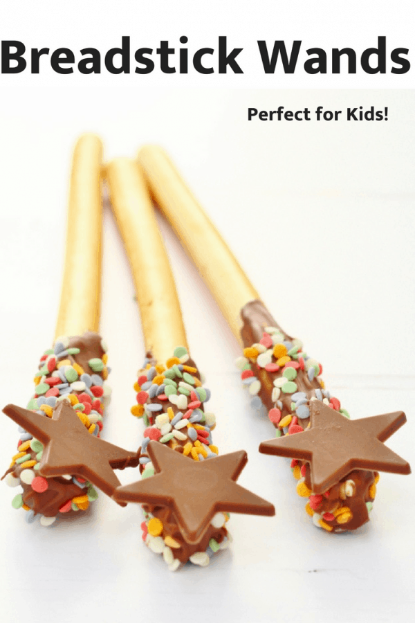 bread stick wands pin image