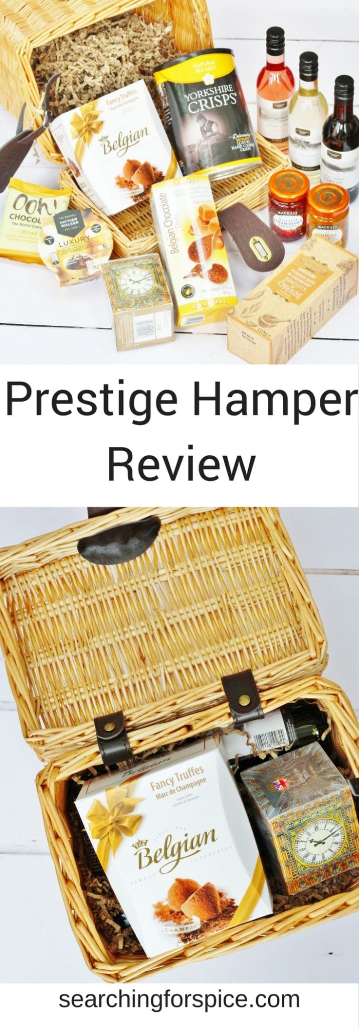 Review of Prestige Hampers and the Fabulous Christmas Hamper. These hampers make great christmas gifts for foodies #review #PrestigeHampers #ChristmasGifts