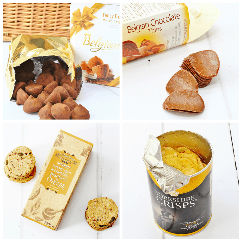 Items in the Christmas Hamper from Prestige Hampers