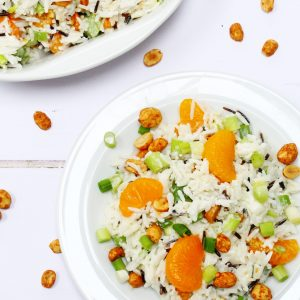 Winter rice salad