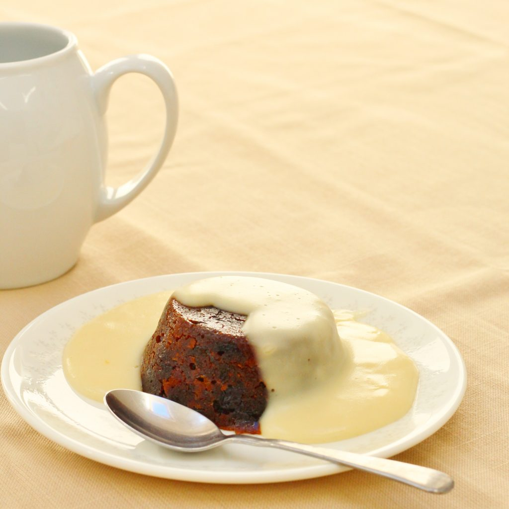 Traditional rum sauce perfect with Christmas pudding
