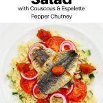 Couscous and sardine salad