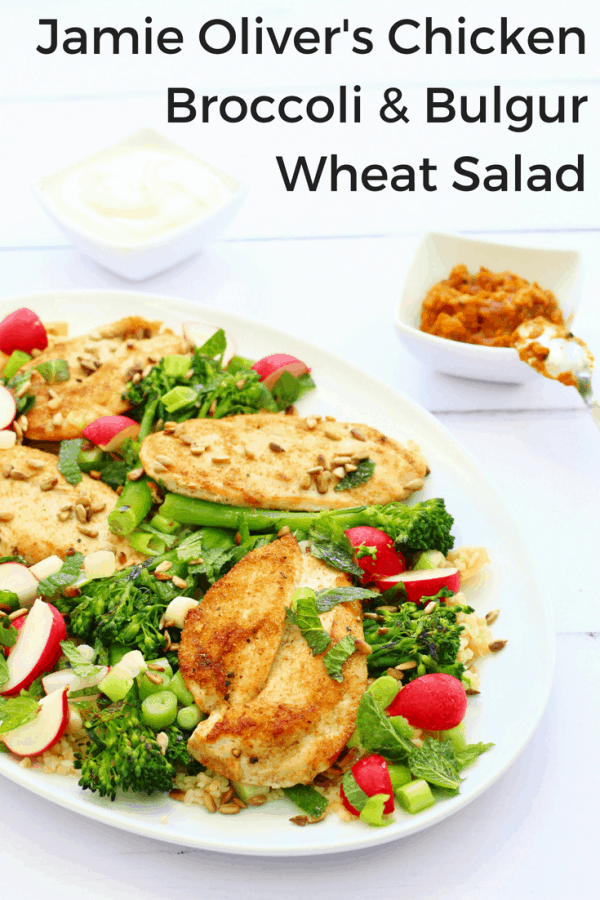 chicken broccoli and bulgur wheat salad
