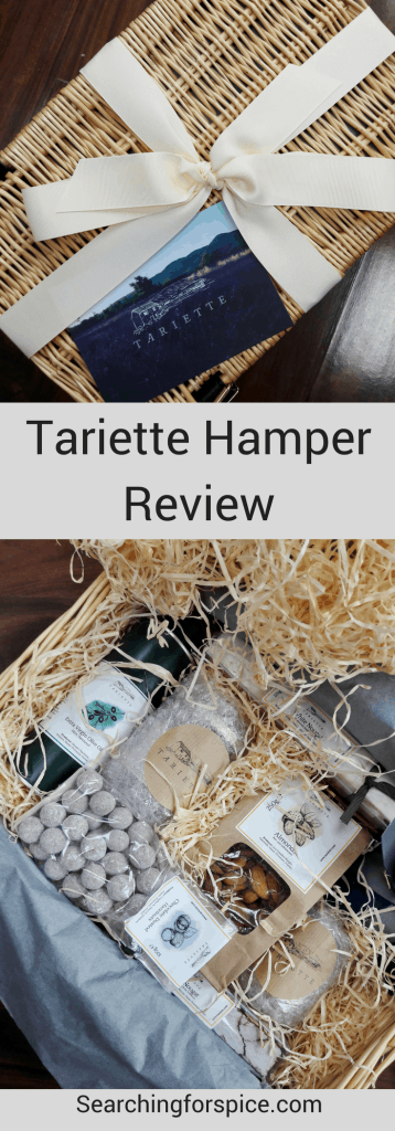 Tariette hamper review. Tariette sell high quality French produce in tailored gift hampers