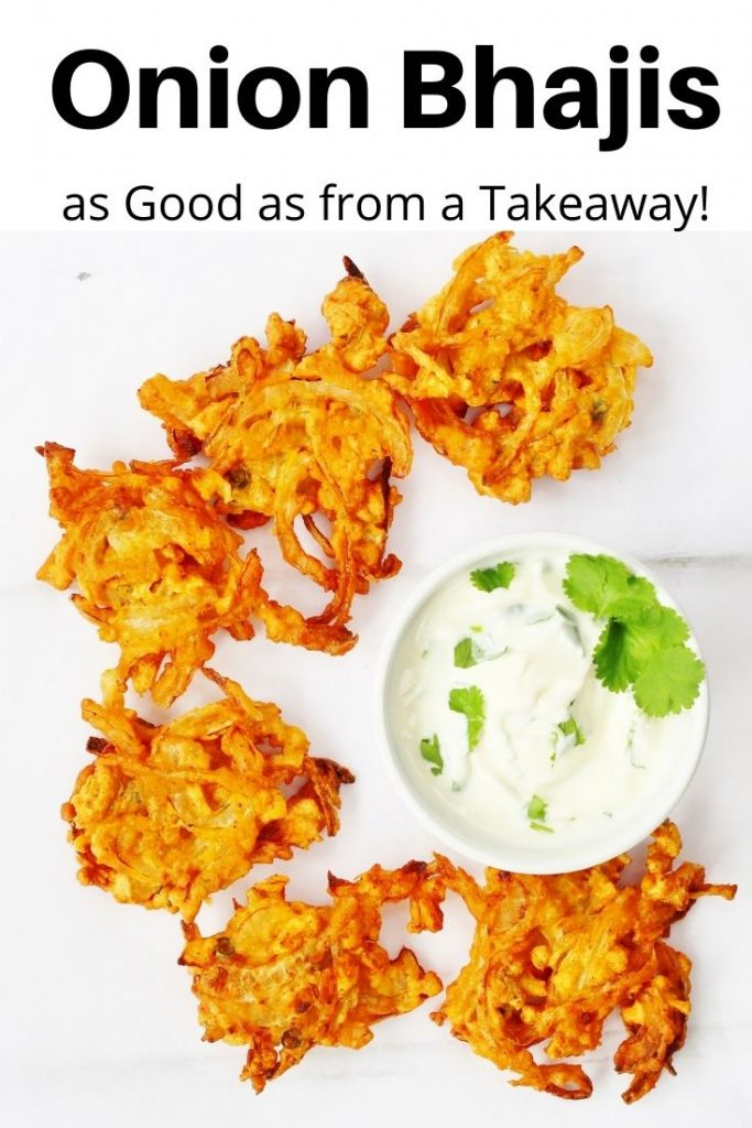 Onion Bhajis pin image