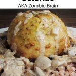 zombie brain recipe pin image