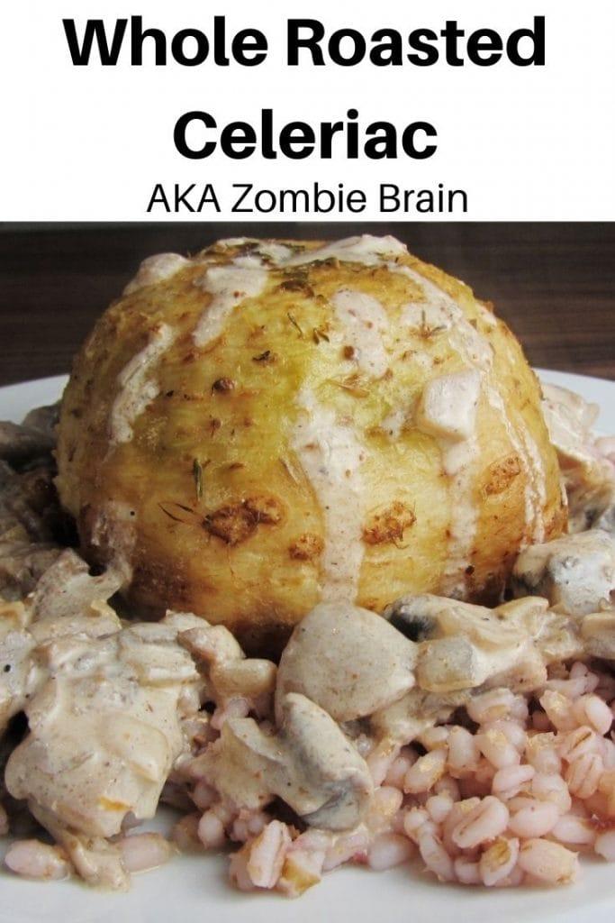 zombie brain recipe pin image