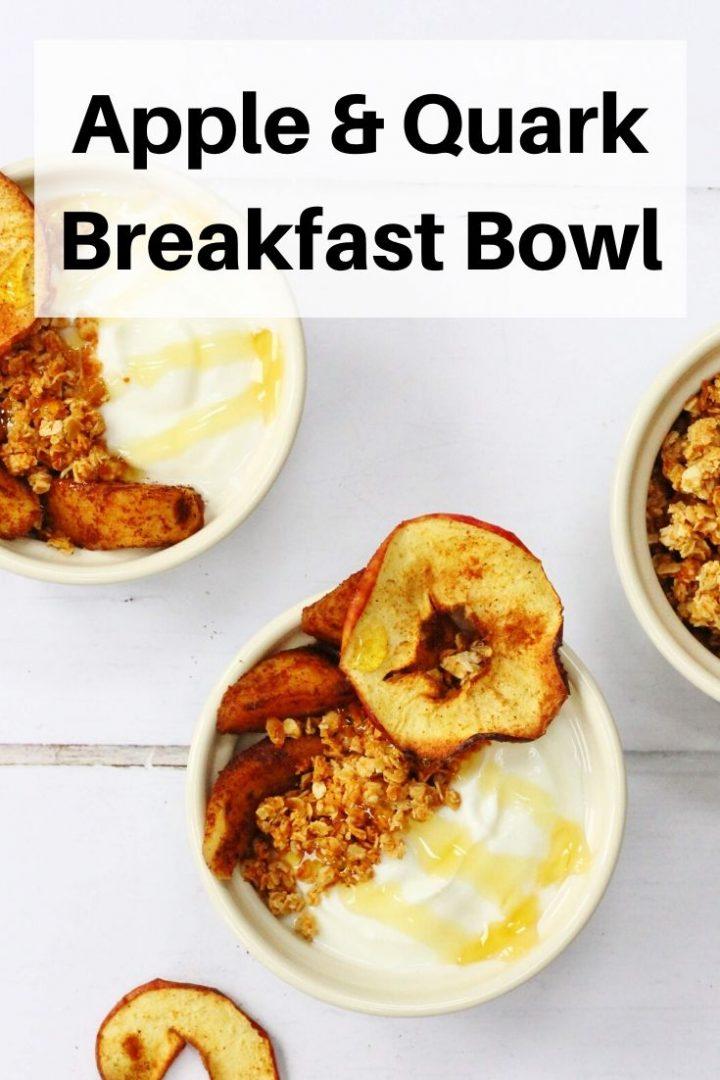 apple quark breakfast bowl pin