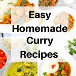 Easy homemade curries pin image