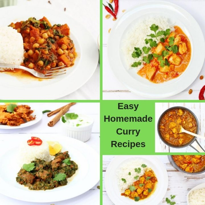 Easy Homemade Curry Recipes collection