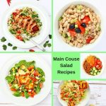 Recipe collection of main course salad recipes