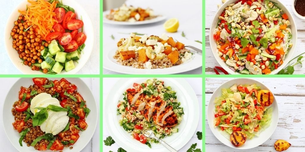 Delicious collection of Main Course Salad Recipes