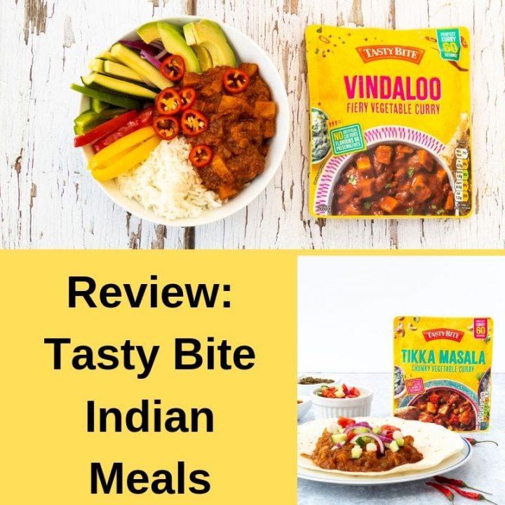 Tasty Bite vegetarian Indian Meals