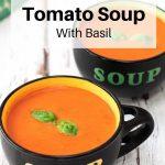 Classic tomato soup pin image