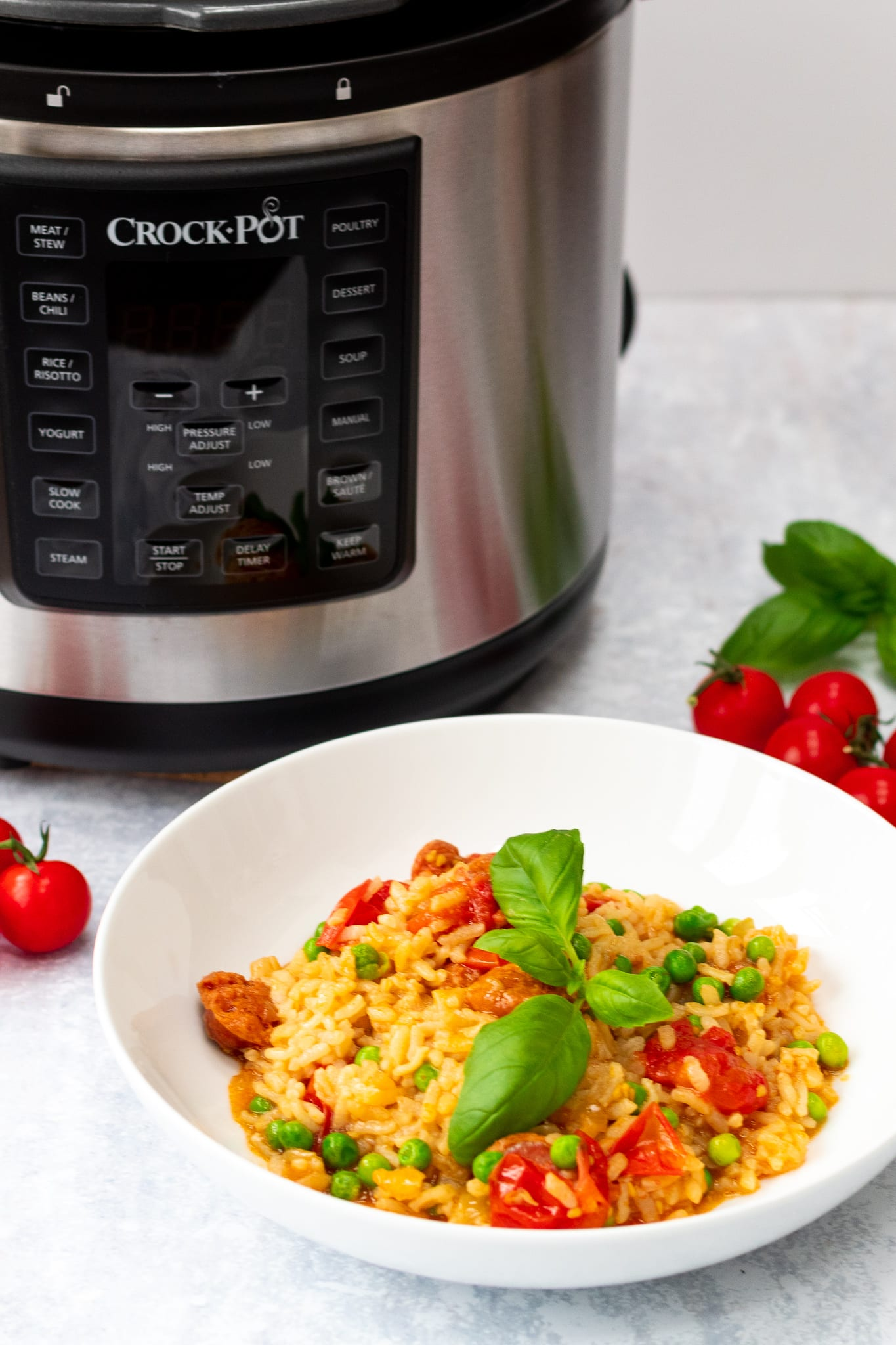 Pressure Cooker Chorizo Risotto And Crock Pot 174 Express Multi Cooker Review Searching For Spice