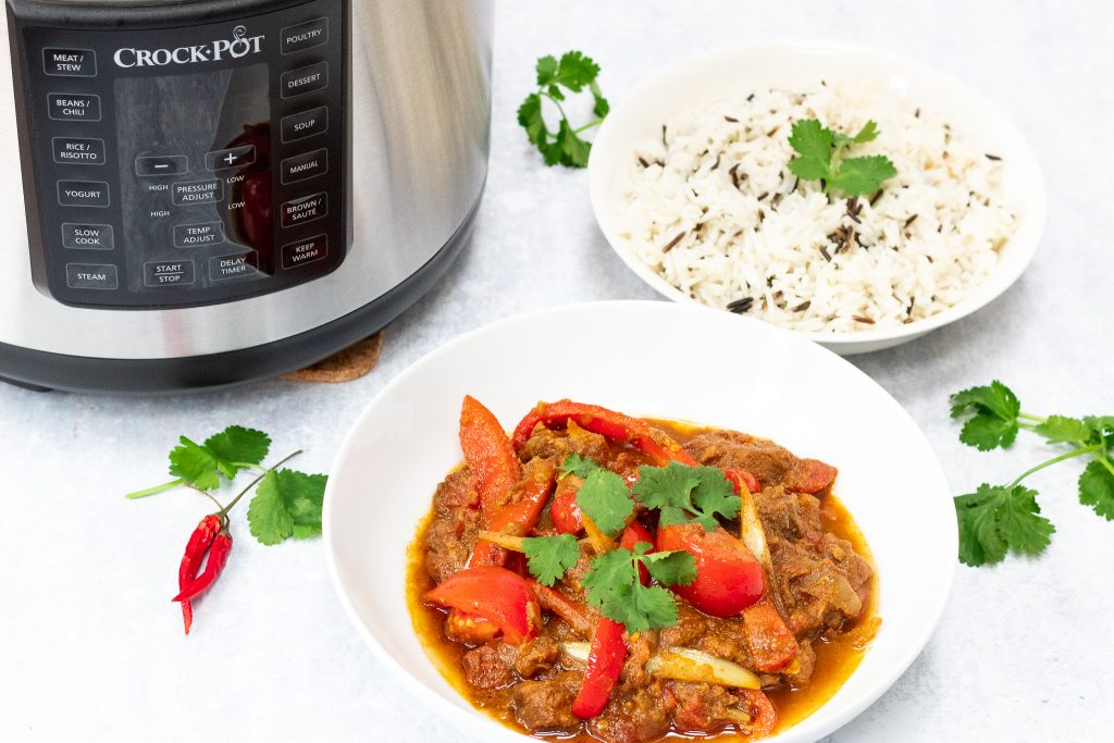 slow cooker lamb jalfrezi recipe
