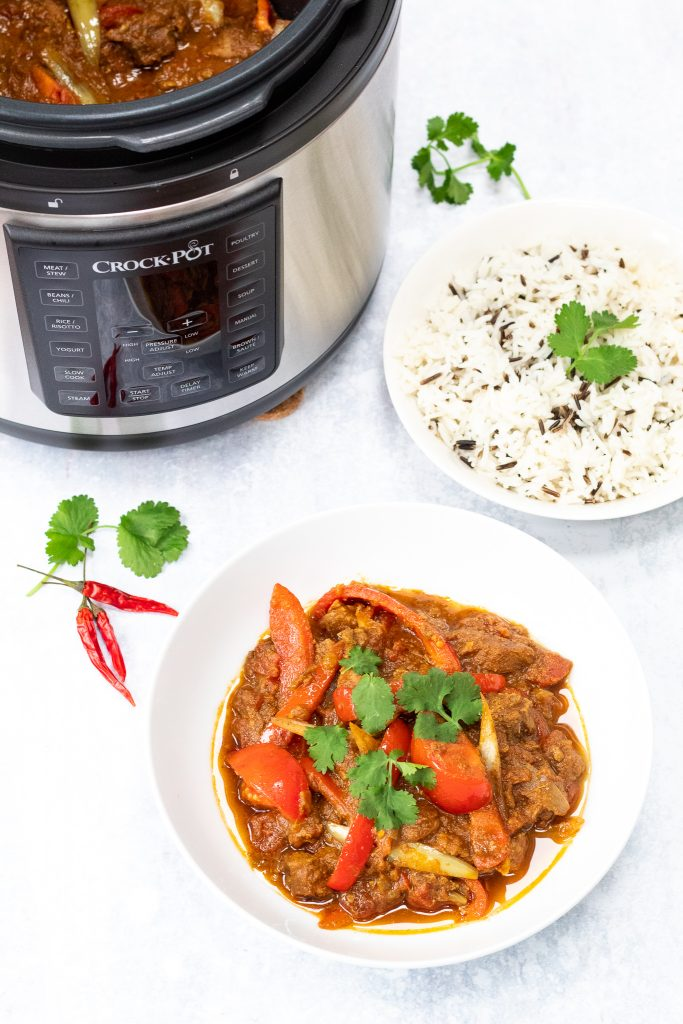 Crock pot lamb jalfrezi recipe