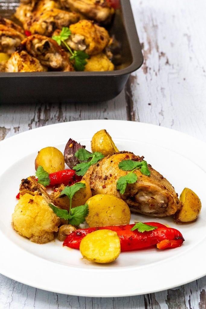 ras el hanout chicken tray bake recipe