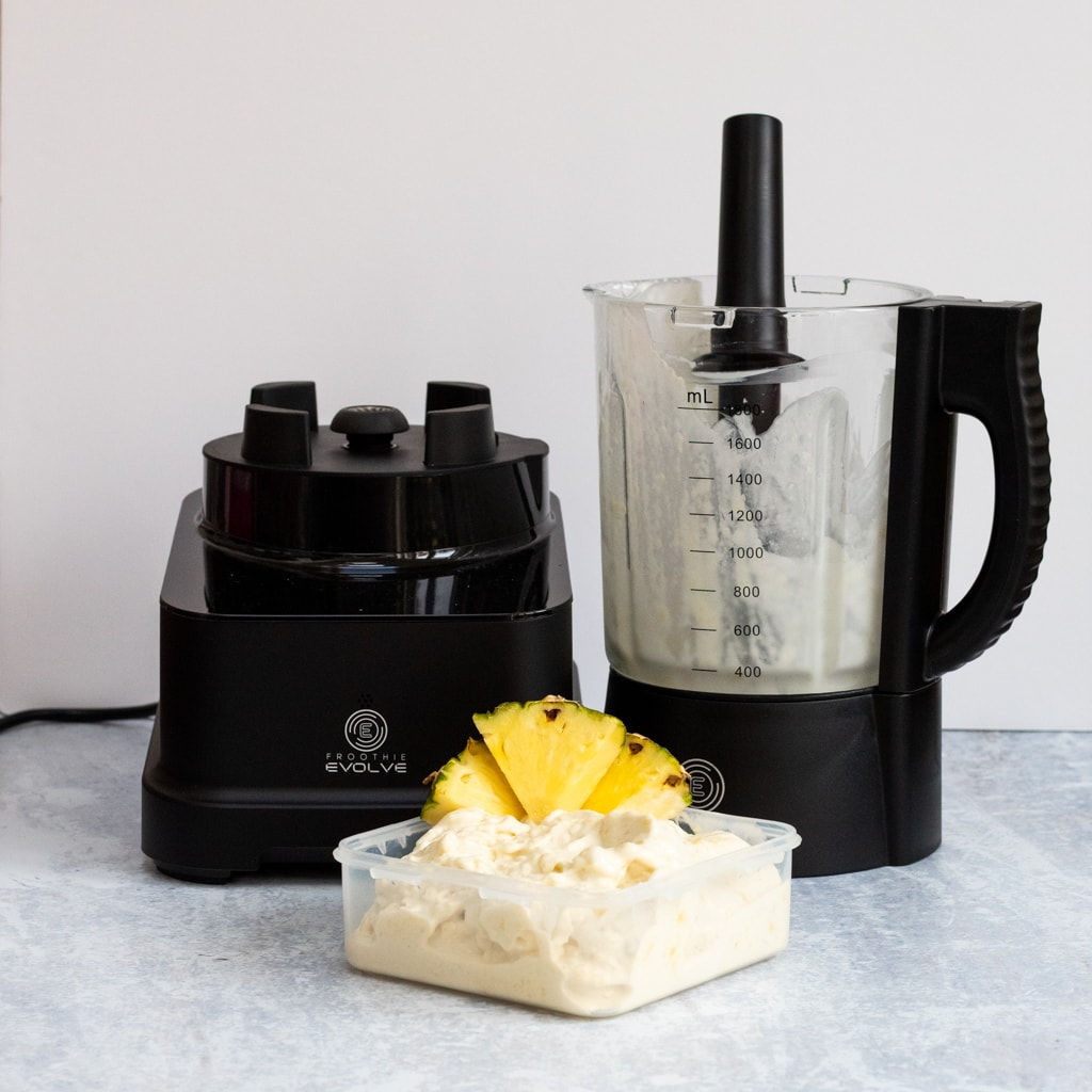 Froothie evolve high speed blender with nice cream