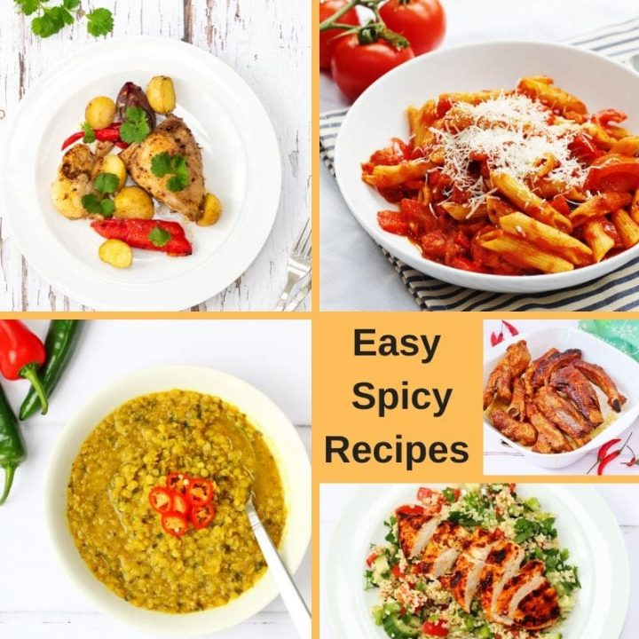 Easy spicy recipes perfect for midweek meals